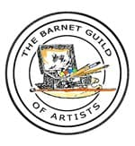 Barnet Guild of Artists logo